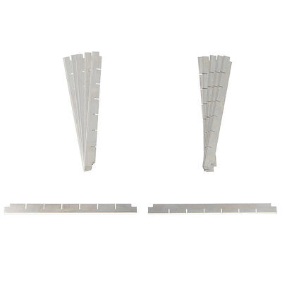 "Nemco Replacement 1/2"" Blade Assembly (Set Of 12) - 536-3"
