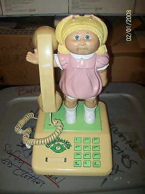 Cabbage Patch Kid Real Working Phone Look At Pics