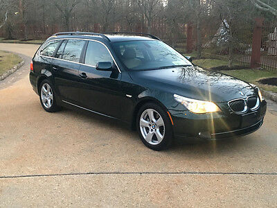 2008 BMW 5-Series Base Wagon 4-Door wagon free shipping warranty financing 535 turbo loaded clean luxury cheap