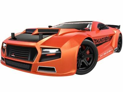 New RedCat Racing RTR Thunder Drift Car 1/10 RTR 4WD Belt Drive Electric Orange