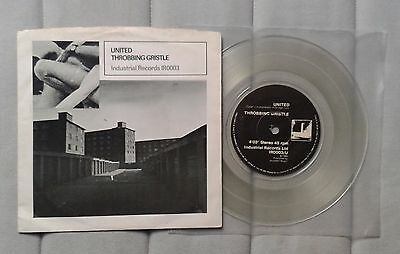 "Throbbing Gristle United Ltd Clear Vinyl 7"" Psychic TV Coil"