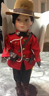 Cathay Collection Royal American Mounted Police Doll