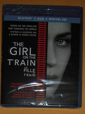 The Girl On The Train (2016 Movie in Blu-Ray/DVD/Digital HD) ***Brand New***