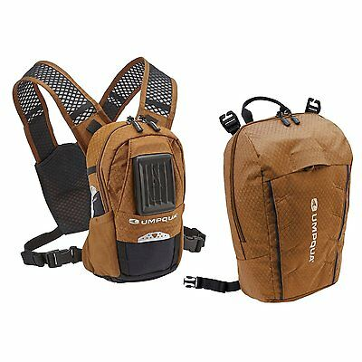 New 2016 Umpqua Rock Creek Kit Zero Sweep Fly Fishing Chest Pack In Copper