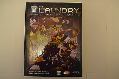 The Laundry RPG based on the stories of Charles Stross Cthulhu BRP