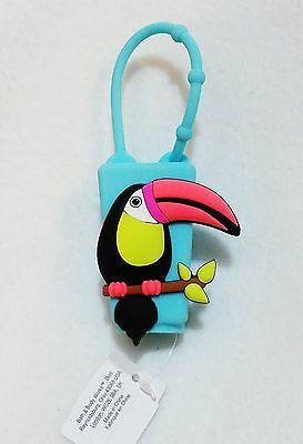 1 Bath & Body Works Tropical TOUCAN Bird Pocketbac Holder Case Sanitizer Sleeve