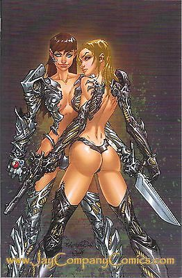 WITCHBLADE # 109 Jay Company Black Virgin  Variant Limited to 100 Copies