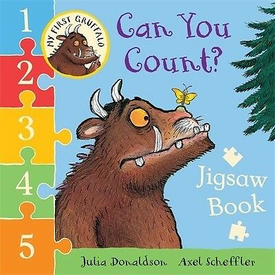 My First Gruffalo: Can You Count? Jigsaw book (My First Gruffalo Jigsaw), 144726