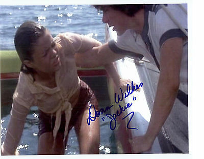 Donna Wilkes Model Autograph Signed 8x10 Photo Autograph Jaws 2