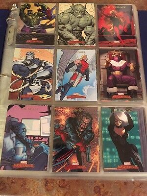 2007 Marvel Masterpieces Mini Master Incl. Base, Chase Sets & More