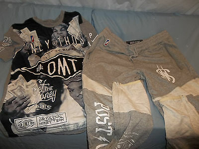 POST GAME MIKE TYSON Money Team BOXING MENS T SHIRT SIZE Med/ Pants Sz XL