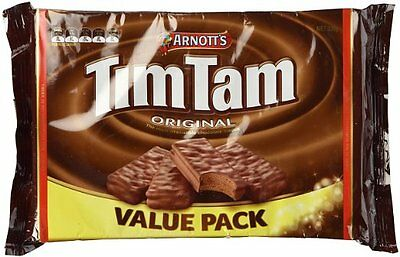 Arnotts Tim Tam Chocolate Biscuits Value Pack 330g X 20 packets