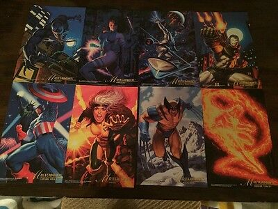 Marvel Masterpieces Promo Lot from 1994 & 1995 Series