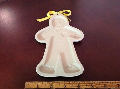 1992 BROWN BAG Cookie Art Gingerbread Boy Cookie Mold Wall Decor Hanging