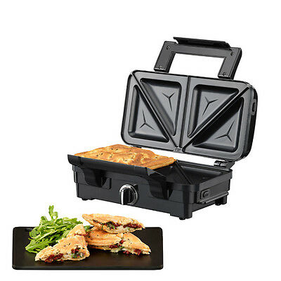 Extra Deep Fill Pockets Sandwich Toasties Maker Toaster Non Stick Large Plates