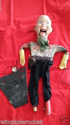 1950s VINTAGE HOWDY DOODY VENTRILOQUIST DOLL   P.Puppet