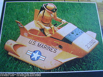 A Model Boat Plan Action Man Sub Plans 15 Inch Semi Submersible On A3