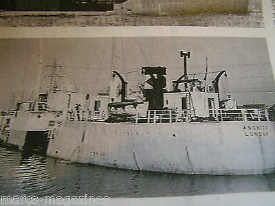 A Model Boat Plan Ww Ii Tanker Empire Campden Anonity From 1947