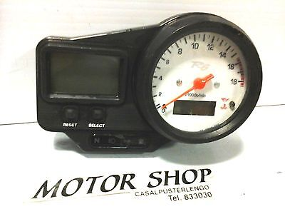 Dashboard Instrumentation Counts Kilometers Yamaha R6 1999 2000 2001 2002