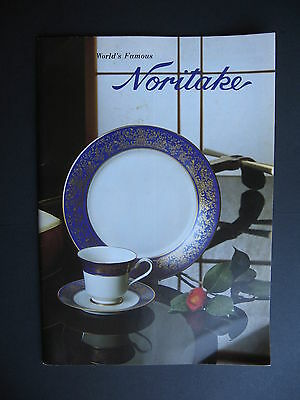 Noritake  1970s price list and Catalogue