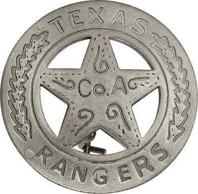 Badges Of The Old West Replicas New Texas Rangers Badge MI3011