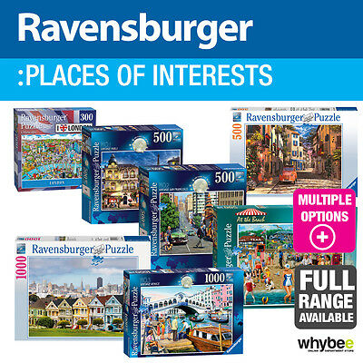 Ravensburger Places of Interest Adult Jigsaw Puzzles - 37 designs to choose from