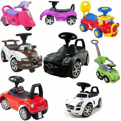 Push-car Children´s Car Children Vehicle Ride On Car Toy Many Variants