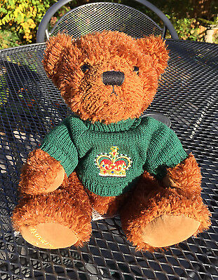 A seated RUSS Buckingham Palace (London) teddy bear in new condition