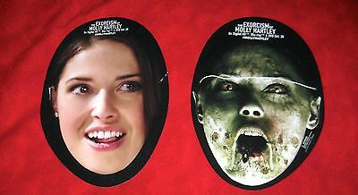 SDCC Comic Con 2015 Exorcism of Molly Hartley Unrated 2 Double Sided Face Mask