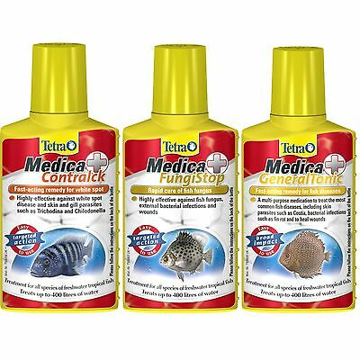 Tetra Medica Aquarium Treatment General Tonic Fungi Stop Contraspot 100ml