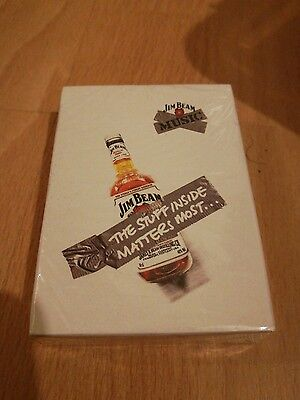 JIM BEAM WHISKY Bourbon COLLECTORS EDITION PLAYING CARDS NEW Cheapest on ebay