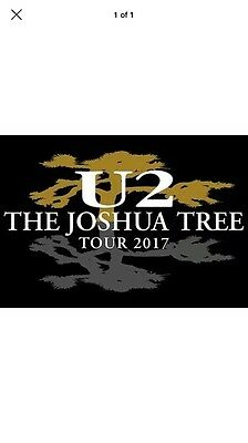 U2 - the Joshua Tree Tour With Noel Gallagher Sunday July 9th - Standing