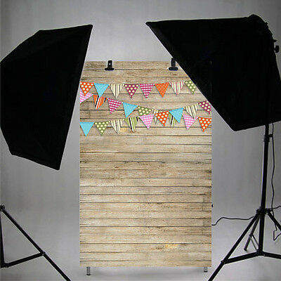 0.9x1.5M Wood Flags Photography Backdrop Photo Background Studio Props