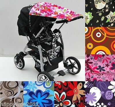 Universal CANOPY FOR BUGGIES SUN and RAIN protection Thick Impassable Certified