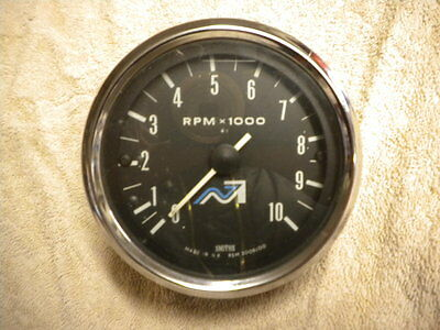 Smiths Rev Counter Tachometer Norton Villers Triumph Genuine Original Working