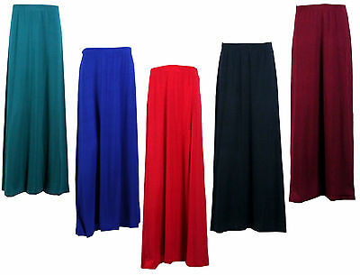 Kids Childrens Girls Modest Teenager Maxi Long Skirt 7-13 Years - Made In Uk