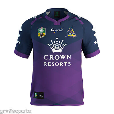 Melbourne Storm 2017 Home Jersey Mens S - 7XL, Womens & Kids Sizes NRL ISC