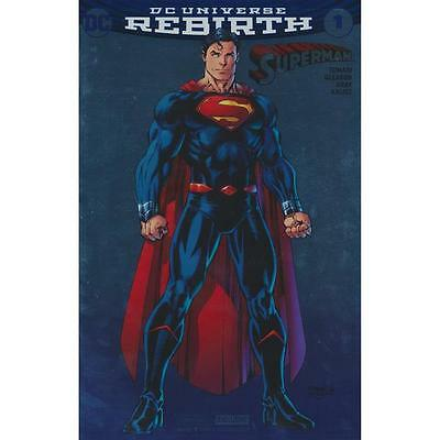 Superman Rebirth Issue 1 - Dc Comics Jim Lee Sdcc 2016 Exclusive Foil Cover