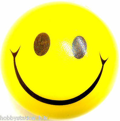 Smiley Face Stress Ball Yellow Stressball Mood Ball Stress Reliever Ball Toy New
