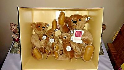 Steiff Margaret Strong Teddy Bear Collectors Edition Set - 1984 - 0156/00