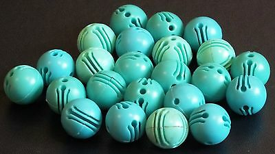 "ELLO BALL CONNECTERS x 23 ""TURQUOISE"""".  VGC. UK DISPATCH"