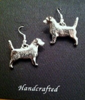 Jack Russell Terrier  Dog lovers EARRINGS~ adorable!  JRT~Parsons