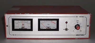 Transmisor Exciter FM FM 25 Ariston 88 ~ 108 MHz 220V