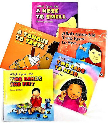 Allah Gave Me Series - 5 Book Set (Hardback Childrens Kids)