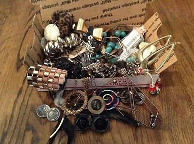 Craft Lot #9 of Costume Jewelry - Wear or Recreate into something new!