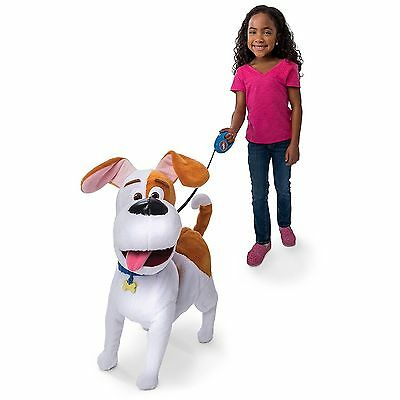 The Secret Life of Pets - Best Friend Max, Walking Talking Pet Dog Friend Leash