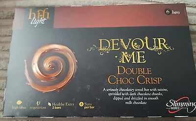 Slimming World Hifi Bars Double Chocolate Crisp 3 Syns