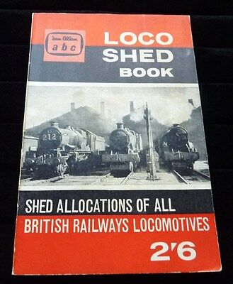 Ian Allan ABC LocoShed Book January 1961 unmarked