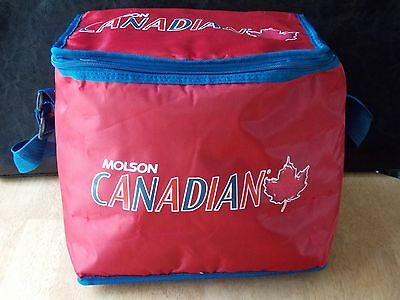 Molson Canadian Beer Soft Sided Cooler Can Chiller Pack Insulated Cooler