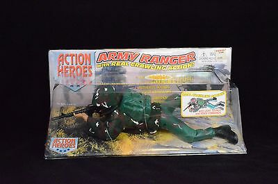 """Vision Toys """"Action Heroes"""" Battery Operated 12"""" Crawling Army Ranger FREE SHIPP"""